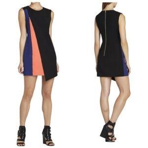 BCBGMaxAzria Nikole Asymmetrical Zip Shift Dress